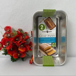 Nordic Ware 2-Pack Natural Aluminum Loaf Pans